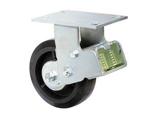 底板型固定铁芯橡胶减震轮