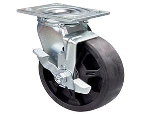 带边刹重型耐高温万向轮