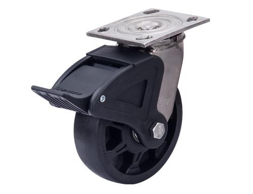 重型不锈钢耐高温尼龙脚轮