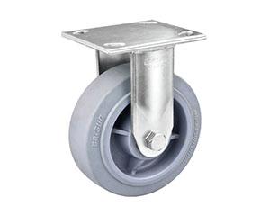 重型不锈钢底板型平边TPR轮