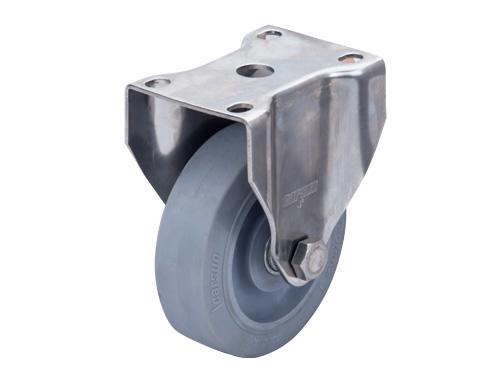 不锈钢固定超级人造胶轮