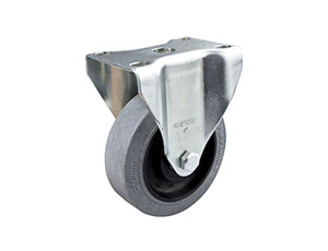 4寸固定导电轮