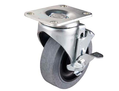 金属边刹万向导电轮