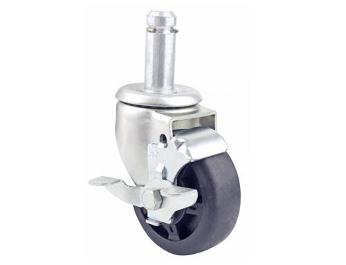 3.5寸插杆耐高温脚轮