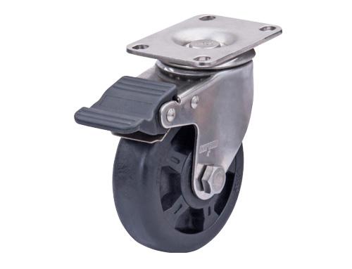不锈钢耐高温尼龙脚轮