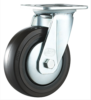 活动橡胶脚轮